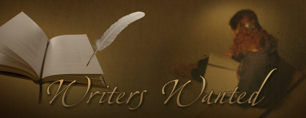 writers Writers Wanted