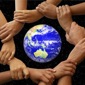 world helpinghand Make the World a Better Place   Use Earth For Energy